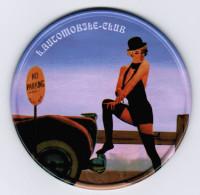 SOUS-BOCK L'AUTOMOBILE CLUB ( EN METAL ET LIEGE ) - Sous-bocks