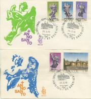 ITALIA - FDC VENETIA 1975 - ANNO SANTO - ANNULLO SAN PIETRO - 6. 1946-.. Repubblica