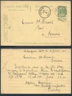 BD132 Entier De Seloignes à Couvin 1911 - Postales [1909-34]