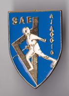 PIN´S THEME SPORT  ESCRIME  CLUB D'AJACCIO EN CORSE   TRES RARE - Escrime