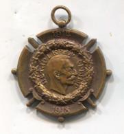 Kingdom Of Serbia - King PETAR I, WW1 Medal, Bronze, D 40 Mm - Altri Paesi