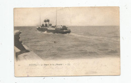 Cp , Bateaux , Commerce , 76 , DIEPPE , Le Départ De La MANCHE , Dos Simple , Voyagée 1904 - Commerce