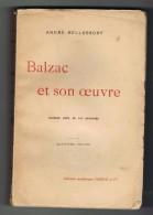 BALZAC ET SON OEUVRE (10 Gravures). André BELLESSORT. 4 Euros. - Poésie