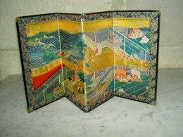Petit Paravent Japon Japonais - Arte Orientale