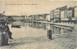 13 La Ciotat, Quai Des Messageries Maritimes, 2 Enfants Au 1er Plan....,  Carte Pas Très Courante - La Ciotat