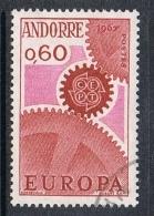 ANDORRE N°180  EUROPA