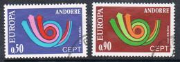 ANDORRE N°226 ET 227  EUROPA