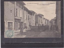 BAGNOLS - SUR - CEZE  (  GARD  ) N ° 5584   Rue Léon ALLEGRE  - Le Lavoir - Bagnols-sur-Cèze