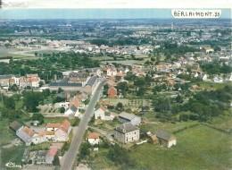 NORD - 59 -  BERLAIMONT - CPSM GF Couleur - Vue Aérienne Générale - Berlaimont
