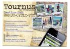 "CPM - ""Tournus, Destination Rando-Cyclo-VTT"" Cyclisme - French Cycling - Saône-et-Loire - France"
