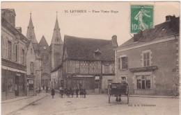 D-36- Levroux- Place Victor Hugo (circulé En 1924) - Francia