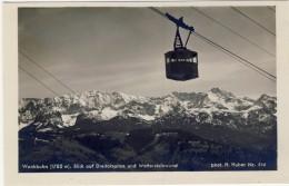 #F898. Germany 1935-40. Deutsche Heimatbilder, Huber Nr. 962. Wankbahn. Dreitorspitze Und Wettersteinwand. - Allemagne