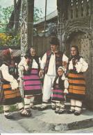 Romania Satul Sugatag Costumes Populaires De Maramures, Pliee - Kostums