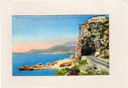 60952   Italia,  Grimaldi-Ventimiglia,  Rochers Rouges -  Frontiera Italiana,  VG  1937 - Imperia