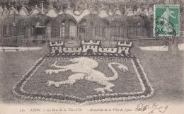 LYON Le Parc De La Tête D'Or. Armoiries De La Ville De Lyon - Lyon