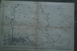57 - SIERCK - AFFICHE 1866- SO- LUXEMBOURG- SCHENGEN-WOCHERN-PALZEM-REMICH-BORG-ORDORF-MERZIG-BACKEN-IRSCH-PORZ-KORRIG - Afiches