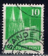 D+ Deutschland 1948 Mi 80 Eg Köln - Bizone