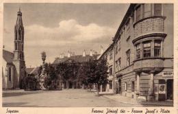 ALTE AK  SOPRON / Ungarn  - Franz Josef´s Platz - 1939 - Hongarije