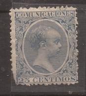 1889-99 Alfonso XIII Tipo Pelon Edifil 221* VC 22,00€ - Nuevos