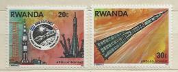 Rwanda 1976, Apollo Soyouz (**), 2 Valori - Rwanda