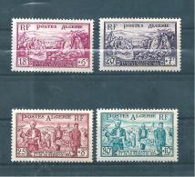 Colonie Algérie De 1954  N°321 A 324   Neuf ** - Neufs