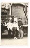 CORBIGNY?????- Photographie Originale  CARNAVAL 1966 - Corbigny