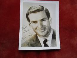 Photographie Rod Taylor Avec Autographe - Foto Dedicate