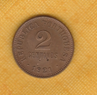 Portugal 2 Centavos 1921 - Portugal