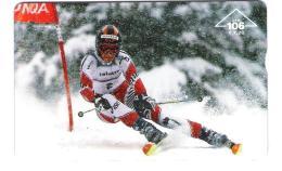 Austria - Österreich - Ski - Schi Nationalmannschaft Des Alpin ÖSV - Jet2web - 000A - Ca. 35 ATS Rest Guthaben - Oesterreich