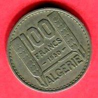 ALGERIE 100F  1950 ( G 58 ) TB 4 - Argelia