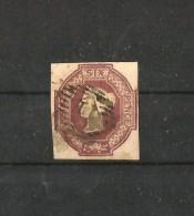 GRAN BRETAÑA 1847-54 REINA VICTORIA. IMPRESION EN RELIEVE - 1840-1901 (Victoria)