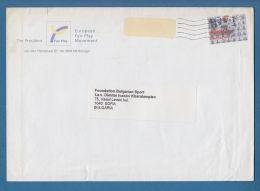 209434 / 1998 - 100 C - Porcelain SHIP , COW , THE PRESIDENT FAIR PLAY , EUROPEAN FAIR PLAY MOVEMENT , Netherlands - Period 1980-... (Beatrix)