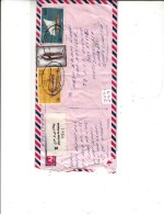 COVER REGISTRED  FROM OMAN TO BANGLADESH - Oman