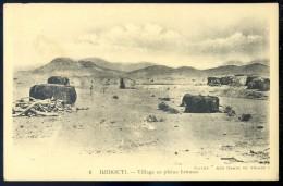 Cpa De Djibouti --  Village En Pleine Brousse    LIOB82 - Djibouti