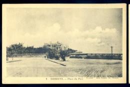 Cpa De Djibouti --  Place Du Port   LIOB82 - Djibouti