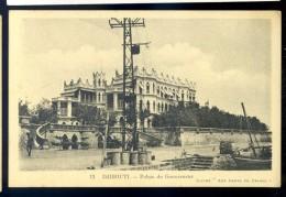 Cpa De Djibouti --  Palais Du Gouverneur  LIOB82 - Djibouti