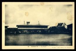 Cpa De Djibouti --  La Gare (2)  LIOB85 - Djibouti