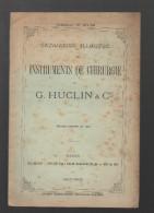 Catalogue HUCLIN (instruments De Chirurgie 1907-1908, Paris) (CAT 420) - France