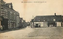 - Depts Divers -FF197- Eure Et Loir - Arrou - Entree De La Grande Rue - Afe Du Lion D Or - Cafes - - France