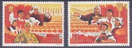 CHINE - 3º PLAN QUINQUENNAL - YVERT Nº1718-19 - *** MNH - 1949 - ... République Populaire
