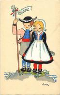 - Depts Divers -FF177- Finistere - Illustrateur Addi - Illustrateurs - Bretagne - Couple - Carte Bon Etat - - France