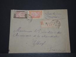 COTE D´IVOIRE - Env Recommadée Pour La France - Août 1924 - A Voir - P17846 - Côte-d'Ivoire (1892-1944)