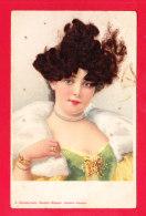 Fant-766Ph71  Une Jeune Femme Avec Cheveux Véritables, Cpa - Femmes