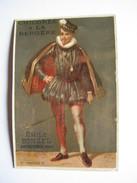 CHROMO CHICOREE A LA BERGERE EMILE BONZEL HAUBOURDIN : COLLECTION LES ROIS DE FRANCE -  N° 74 CHARLES IX - Trade Cards