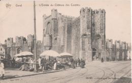 GAND   L'entree Du Chateau - Belgique
