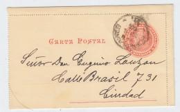 Argentina POSTAL CARD 1906 - Postwaardestukken