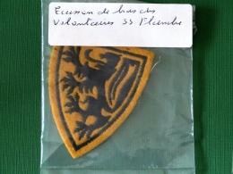 Ecusson Bras Volontaire Flandre - Patches