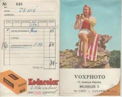 Pochette De Photos Des Années 50-60 - Kodacolor - Ohne Zuordnung