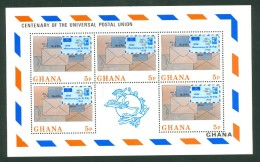 Ghana 1974 Yv 495/98** , Mi 548/51** Kleinbogen (4 Scans)  MNH - Ghana (1957-...)