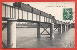 CPA Moulins - Le Pont De Fer - Moulins